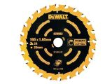 DeWalt DT10624 Cordless Extreme Framing Circular Saw Blade 165 x 20mm x 24T